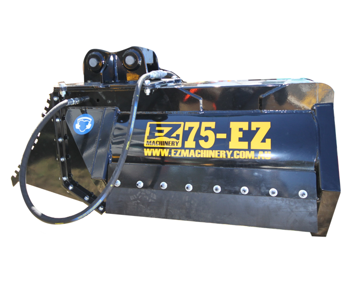 Hydraulic Tree & Forestry Mulchers ez-75 | EZ Machinery