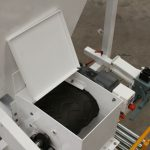 inside view of a bagging machine