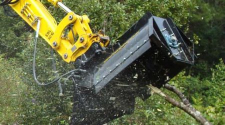 mulcher excavator | EZ Machinery
