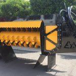 fixed flail mulcher ez-125-side