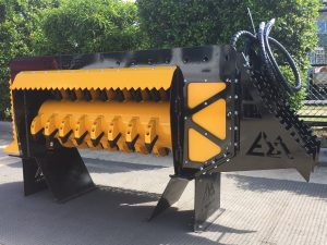 EZ-125 Fixed Flail Mulcher | EZ Machinery