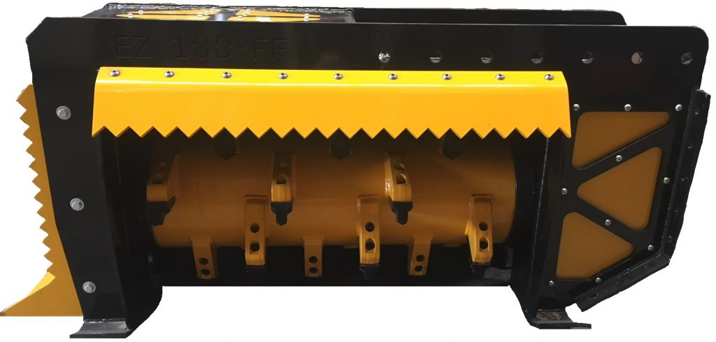EZ-100 Fixed Flail Mulcher | EZ Machinery