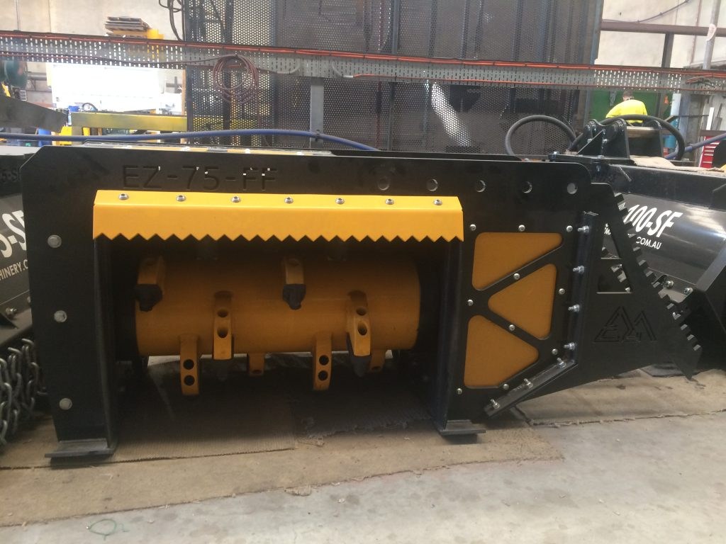 EZ-75 Fixed Flail Mulcher | EZ Machinery